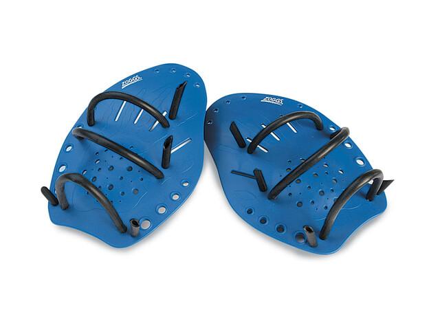Zoggs Matrix Hand Paddles Wiosełko pływackie Large niebieski